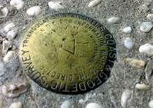 Stand in three states at once: Kentucky, Virginia, and my beloved Tennessee:  Cumberland Gap's Tri-State Peak trail.
