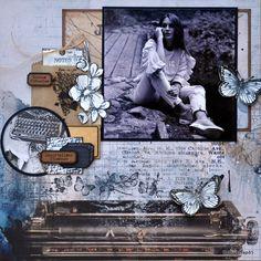 Pages douces flâneries - Cathy Contiero Collection En toutes Lettes de LD et Cathy Contiero