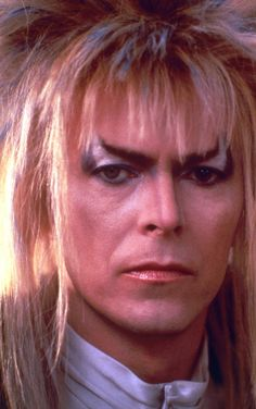 1986 - David Bowie as Jareth, The Goblin King in Labyrinth film. Photo for… David Bowie Labyrinth, Labyrinth 1986, Labyrinth Movie, Labyrinth Quotes, Goblin King Labyrinth, Saint Yves, Jennifer Connelly, Mayor Tom, The Thin White Duke