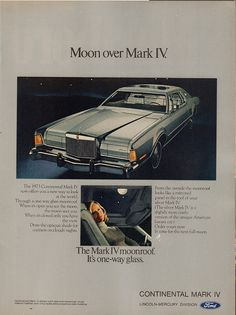 1973 Ford Lincoln-Mercury Continental Mark IV Advertisement Time Magazine March 26 1973 | by SenseiAlan