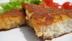 Filets de doré au fromage cheddar #poisson