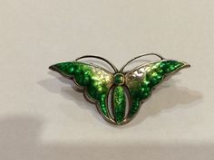 Charles Horner Art Nouveau Silver And Enamel Butterfly Brooch Chester Hallmark in Jewellery & Watches, Vintage & Antique Jewellery, Vintage Fine Jewellery, Art Nouveau (1895-1910)   eBay