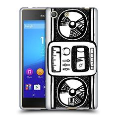 Head Case Designs Radio Sketch Hand Drawn Gadgets Soft Gel Case for Sony Xperia M5  M5 Dual -- You can get more details by clicking on the image. (Note:Amazon affiliate link) #CellPhonesAccessories