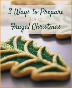 3 Ways to Prepare for a Frugal Christmas | The Happy Housewife