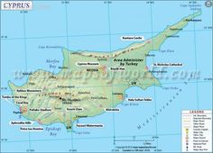 Cyprus Map - http://travelquaz.com/cyprus-map.html
