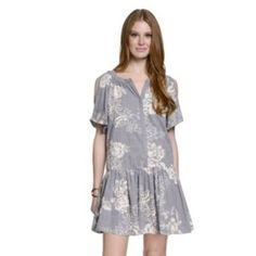 Women's+Indication+by+ECI+Floral+Shift+Dress