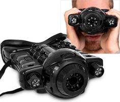 These night vision binoculars, licensed by the armed forces of the United Kingdom, features a clear LCD display and works effectively from distances of up to 15 meters.     There are two modes to explore as well, depending on exactly what you want to spy on. Stealth mode allows you to see w