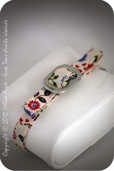 Bracelet noeud canette fleuri bleu-rose €10.00 Bracelets Diy, Handmade Bracelets, Handcrafted Jewelry, Pop Cans, Charm Jewelry, Diy Jewelry, Jewelery, Bottle Cap Crafts, Bracelets Liberty