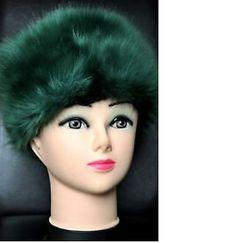 Russian-kubanka-Faux-Fur-Hat-in-Moscow-Bottle-Green