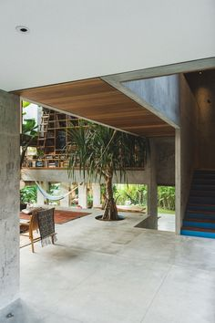 Modern Home Design 55677 Daniel Mitchell's Concrete House in Bali by Patisandhika Office houses design plans exterior design exterior design houses home architecture house design houses Design Exterior, Interior And Exterior, House Bali, Appartement Design, Concrete Houses, Tropical Houses, Tropical Paradise, Brutalist, Home Deco