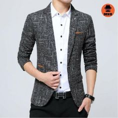 2017 Casual Linen Men's Blazer  BUY NOW ONLY FOR $92.00  Special discount for ALL is 12% with code: MSB12 !♛ http://www.mens-style24.com ♛! Free worldwide shipping!  #mensfashion #mensfashions #Mens #Fashion #FashionBlog #Dapper #jeans#Guys #Boys #streetstyle #Urban #menswear #menstyle #shirt #usa #shirts #jackets #coat #coats #hoodies #denim #jeans #pants #streetwear #streetstyle #newrelease #sale #blazer #style #menstyle