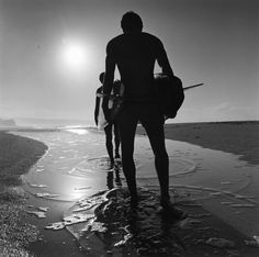 """Sunset Beach, Oahu, Hawaii, 1962""  Copyright Ron Church"