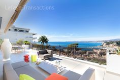 #ForSale #Nice06 #FrenchRiviera Duplex of 150sqm with terrace of 130sqm - panoramic #seaview. 3 bedrooms High #standing residence  with #swimmingpool http://www.french-riviera-property.com/en/detail-appartment-for-sale/4329-nice-mont-boron-superb-duplex-for-sale-of-150-sqm-panoramic-view-double-garage.cfm