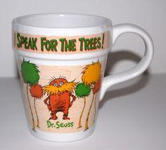 Dr Seuss The Lorax Souvenir Coffee Mug Universal Studios Islands of Adventure | eBay