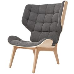 Mammoth fauteuil Norr11 washed black - Bestel hem hier!