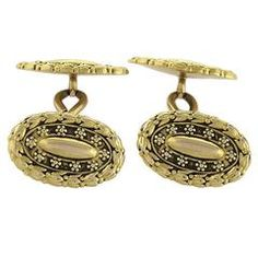 Tiffany & Co. Antique Gold Cuff Links