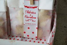 diseño de packaging para un bautizo, envoltorio para galletas cookies, bonito cuqui