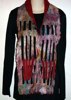 Wool Felt Scarf by Suzanne Higgs