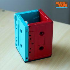Porta Canetas montados com cassetes
