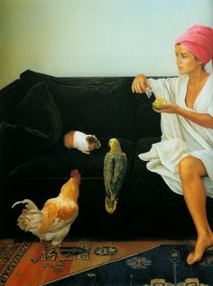 Fine Art and You: Hyper-Realistic Paintings by Chilean Painter Claudio Bravo   [1936-2011]