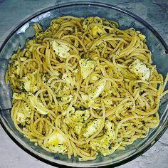 #food #salat #spaghetti #mozzarella #gewürze #foodblogger #foodblog #foodfoto #fit #lecker