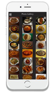 Below are the screenshots of the Restaurant App as it would look and feel on your customer's mobiles.  Crisp, Elegant and User Friendly mobile app design makes it easier for your customers to navigate and order.