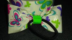 Back of Duck Tape Bow