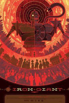 The Iron Giant - Mondo - Poster