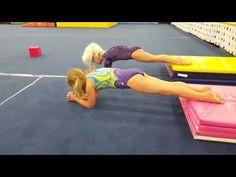 Core Effort Warm-up Gymnastics For Beginners, Gymnastics Lessons, Preschool Gymnastics, Gymnastics Videos, Gymnastics Coaching, Gymnastics Training, Gymnastics Workout, Gymnastics Warm Ups, Gymnastics Floor