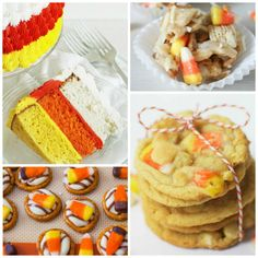 15 Delicious  candy corn recipes - perfect for candy corn inspired party for Halloween! #Halloween #candycorn #recipes