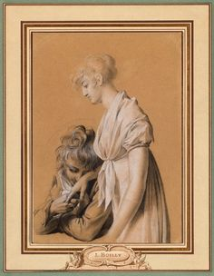 Louis-Léopold Boilly | 1761-1845 | Les Fiancés | The Morgan Library & Museum