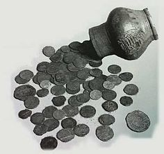 Carbon dating oude munten