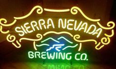 Sierra Nevada Beer Neon Sign | eBay | Sold for US $143.48