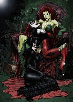 Catwoman, Batgirl, Comic Book Characters, Comic Character, Comic Books Art, Comic Art, Gotham City, Hq Dc, Marvel Heroes
