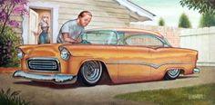 Pretty Greasy: Keith Weesner - Car Culture, Kustom Kulture, Pin-up Artist