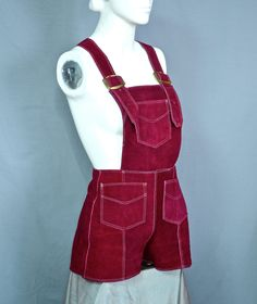 Vintage Purple LEDERHOSEN - Just What You Were Looking For. $65.00, via Etsy.