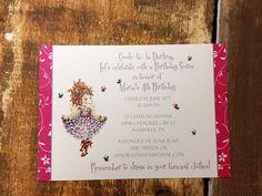 Fancy Nancy Shower or Party Invitation Deposit. $20.00, via Etsy.