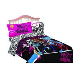 Monster High Full Size Bed Set