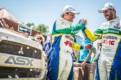 Com o ASX Racing, Equipe Mitsubishi Petrobras completa o Rally Dakar 2016  João Franciosi e Gustavo Gugelmin superaram todas as dificuldades dos mais de 9.000 km para comemorar na rampa de chegada em Rosario, na Argentina Depois de 9.583 km entre a Argentina e Bolívia, terminou hoje em Rosario (ARG) o Rally Dakar, a […]Compartilhe nosso conteúdo