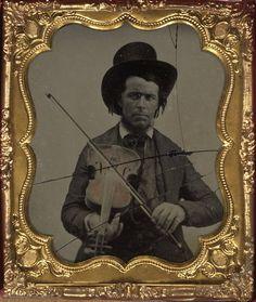 (c.1850s-1860s) Musician (Violin Player)
