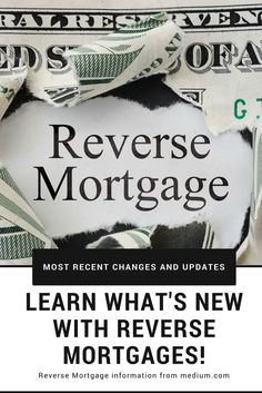 The Federal Housing Administration has made some reverse mortgage changes to protect not only the borrowers who are getting the loans but also to safeguard the FHA from major losses.