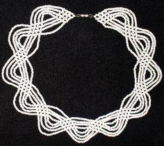 Схемы плетения из бисера, рукоделие, бисер, украшения из бисера, фенечки, браслеты из бисера, колье из бисера.
