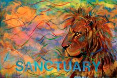 SANCTUARY www.latiemrramsey.com prophetic art by, Latimer Ramsey