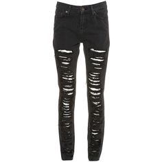 DIY: Ripped skinny jeans