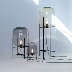 Oda lights by Sebastian Herkner