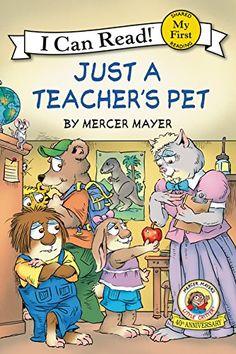 Little Critter: Just a Teacher's Pet by Mercer Mayer http://www.amazon.ca/dp/0061478199/ref=cm_sw_r_pi_dp_9Qhmwb1QJRGAH