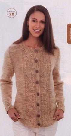 Free Knitting, Knit Cardigan, Knit Crochet, Crochet Patterns, Vest, Cozy, Sweaters, Cardigans, Warm