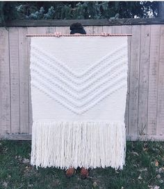 large weaving -- love this one!