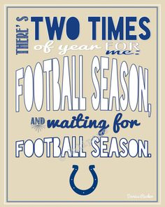 Hey, I found this really awesome Etsy listing at https://www.etsy.com/listing/161961851/indianapolis-colts-football-season