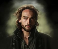 Ichabod. Painting by LindaMarie Anson